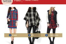 How To Wear: Plaid / 1 Trend, 3 Ways