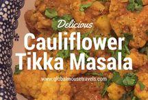 Eat Seasonal, April. Best Cauliflower Recipes.