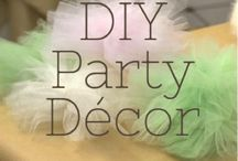 DIY party decorations
