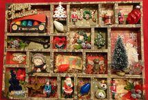 Christmas configuration tray