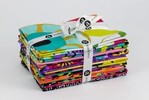 Dazzle / Fabric collection designed by Kim Schaefer.