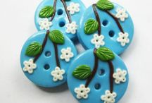 CRAFT: polymer clay buttons / by Neri atelier Winged bow ties