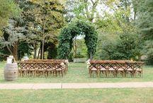 Fall Hendry House Wedding / Simple Elegant Country Joyful Celebration
