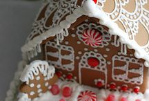 Gingerbread houses / Food, christmas
