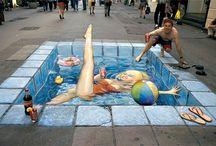I ♥ Sidewalk Art / by Teresa Woodside