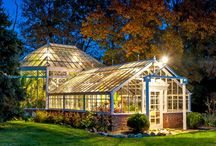 Greenhouse houses / Inspiration for living in a greenhouse