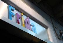we present Frida / Il nostro Concept Store