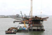 """Z cyklu """"ULMA na świecie"""" – Ponte Anita Garibaldi, Brazylia / Rozbudowa drogi BR-101 o długości blisko 5000 km, która stanowi połączenie północnej części Brazylii z południową, to projekt strategiczny z punktu widzenia rozwoju logistycznego tego kraju. Dostawcą deskowań do budowy tego obiektu jest firma ULMA Brasil - Fôrmas e Escoramentos Ltda."""