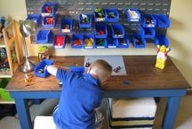Lego-huoneet