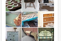 painted furniture / by Patti Burrows