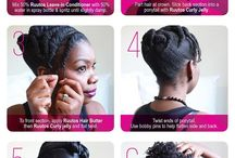 Styling new free hair / Styles for my hair