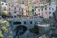 Diorama landschap italië