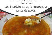 soupe brûle graisse