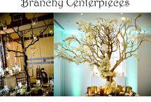 Alternative Wedding Centerpieces