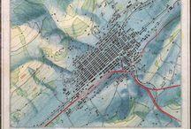 Mapas / Maps / Mapas / Maps / by susi iglesias