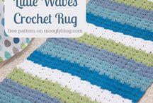 knit/crochet rugs