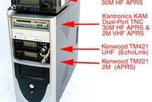amatørradio og elektroniker / Ham radio