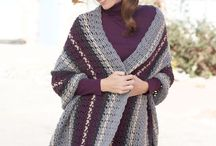 Crochet Shawls, Wraps and Ponchos / Free patterns for easy to lower-intermediate crochet shawls, wraps and ponchos / by Tracy