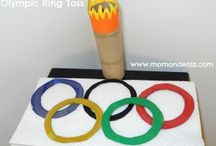 Olympics Crafts and Activities / Have fun celebrating the Olympics with these super fun Olympic crafts and Olympics activities!