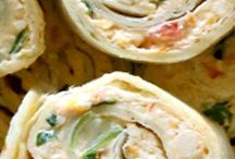 Chicken Enchilada Roll-Ups