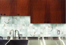 Premium Calacatta Gold Polished Marble Tile and Mosaic Collection / Premium Calacatta Gold Polished Marble 2x2 Mosaic, 3x6 Subway Tile, 12x12 and 12x24 Field Tile, Pencil, Crown and Base Moulding from http://allmarbletiles.com