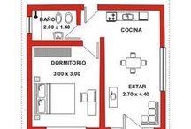 Planos casas pequeñas