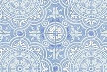 Frech light blue room