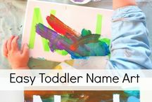 Tips for Toddler Arts and Crafts / Enjoy some DIY fun with your toddlers and make their beautiful, creative ideas tangible.