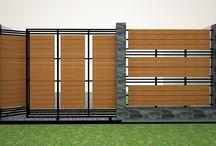 Garduri din lemn WPC