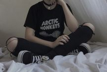 Grunge aesthetic