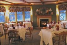 Breakfast Dining at the Greenville Inn / Each morning, guests are treated to magnificent views while enjoying their breakfast at a private table.