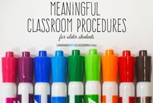 Classroom Management / Making my classroom easier to manage