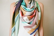 A love for Scarves / by andrea bustillo