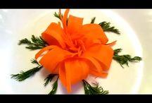 ozdoby z mrkvy