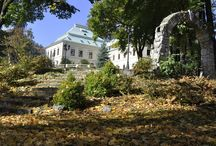 Jesień w Manor House