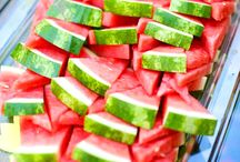 Watermelon Week / Consuming fruits and vegetables of all kinds has long been associated with a reduced risk of many lifestyle-related health conditions. Many studies have suggested that increasing consumption of plant foods like watermelon decreases the risk of following problems : a. Asthma prevention    b. Blood pressure control      c. Cancer  d. Digestion and regularity e. Hydration      f. Inflammation   g. Muscle soreness  Keeping your health in our mind we have got watermelon fest this week just for you.