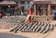 Patan Lalitpur Nepal / Patan is renowned for the pottery, using techniques that go back hundreds of years its  timeless a art.