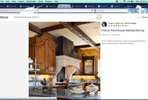 French Farmhouse - kitchen diner build / This board contains the design features for 10 Garlinge Road living room