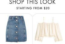 Allison Argent Outfits