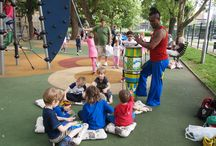 Capoeira for children in Prague / Capoeira with my sons