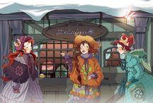 Illustrations-Fairy Oak