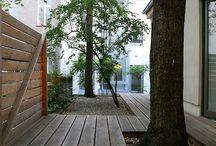 decks around trees