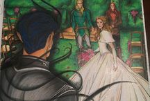 court of coloring / ACOTAR coloring book