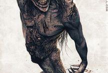 monsters/demons