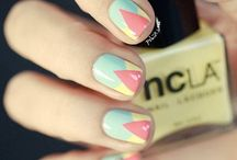 Nail art / Nail paintings and art