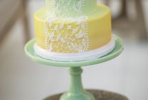 Pretty cakes / Decorated cakes. Wedding, party, birthday, baby shower inspiration