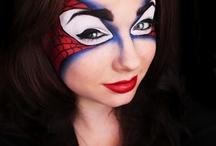 Teenage makeup