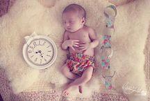 Portait bébé à tester / Toutes les idées qui puissent mettre bébé en valeur