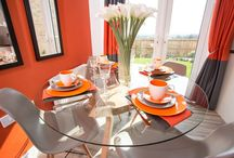 The Kilkenny / Great use of brightly coloured stripes in this Gleeson showhome