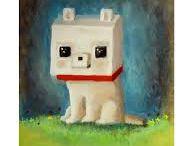 Minecraft dog